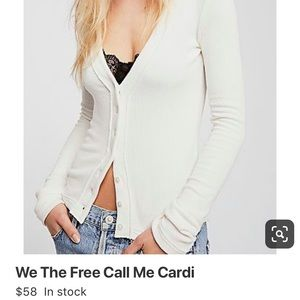 We The Free cardigan
